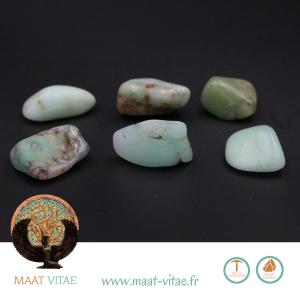 Chrysoprases - Pierres naturelles et équitables de notre partenaire Maât Vitae - www.maat-vitae.fr