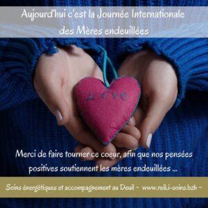 Journée Internationale des Mères endeuillées